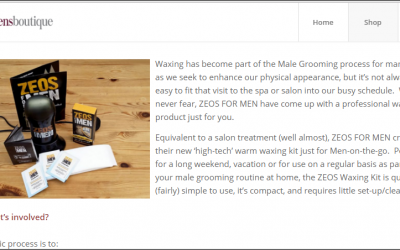 ZEOS Waxing for Men Product Review From Men's Boutique