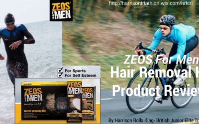 Harrison Rolls-King, British Junior Elite Triathlete Reviews The ZEOS Men's Waxing Kit