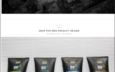ZEOS For Men Product Review By Gentleman's Odyssey