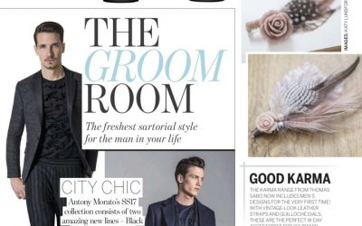 ZEOS QU3 Features In Perfect Wedding Magazine – the Groom Room