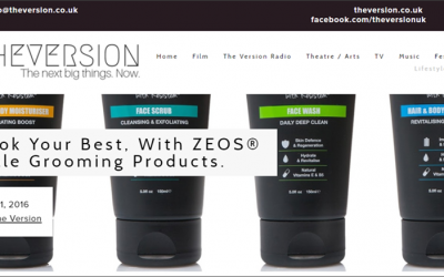 Look Your Best, With ZEOS? Male Grooming Products.