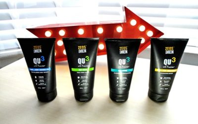 The Next Generation in Skincare – ZEOS QU3 for Men product review Marco Alla Moda