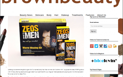 Zeos Waxing Kit for Men Product Review By Brown Beauty