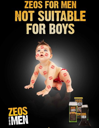 zeos for men poster funny