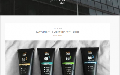 BATTLING THE WEATHER WITH ZEOS – Product Review By Jared LDN