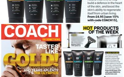 ZEOS QU3 Features In COACH Magazine Hot Products of the Week