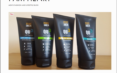 ZEOS FOR MEN QU3 SKINCARE REVIEW. I FEEL GOOD !  I Am Henry New Favourite Brand