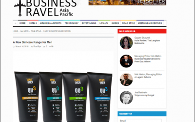 A New Skincare Range for Men-The Art Of Business Travel Asia Pacific feature
