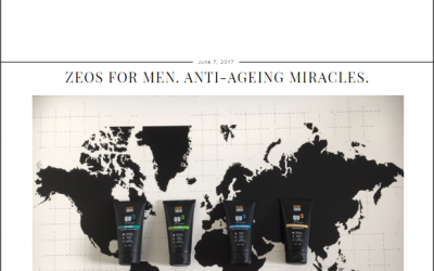 Zeos For Men. Anti-Ageing Miracles