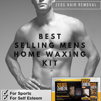 ZEOS for Men — The revolution in hassle-free male grooming