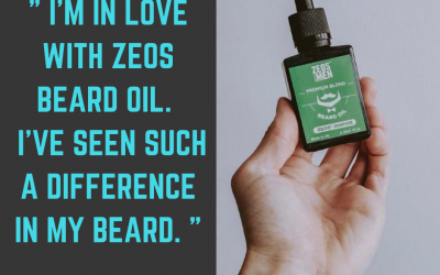 Luke Heywood Style Checks out the ZEOS Beard Oil
